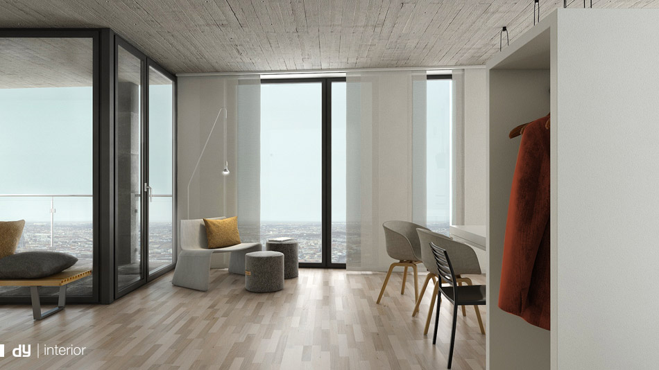 interior architecture visualisation